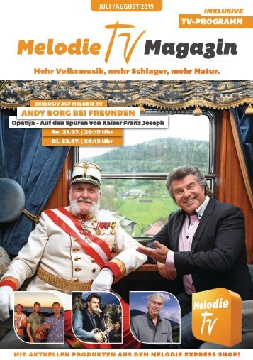 Melodie TV Magazin 07 2019