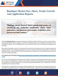 Bandages Industry Size, Share And Emerging Trends Report 2028