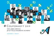Couponheft 07-09/2019 – Arsenal Wittenberg