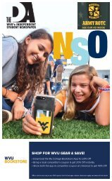 The 2019 WVU NSO Guide