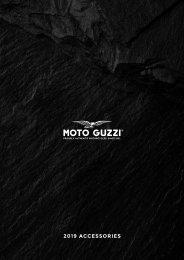 Moto Guzzi Zubehörkatalog 2019