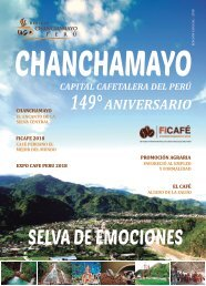 Revista Chanchamayo Perú 2018