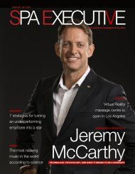 Spa Executive | Issue 8 | July 2019