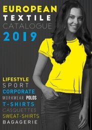 European Textile Catalogue 2019