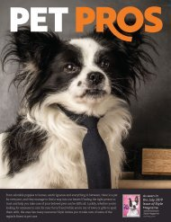 Style Magazine Pet Pros Special Advertising Section
