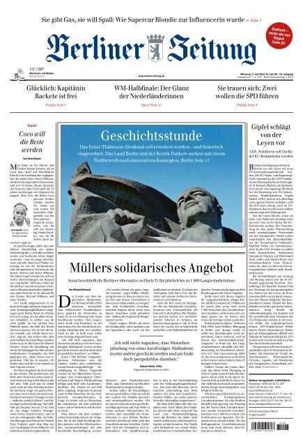 Berliner Zeitung 03.07.2019