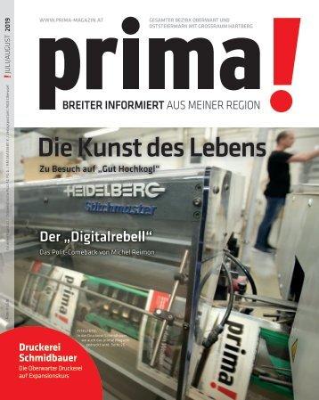 prima! Magazin - Ausgabe Juli 2019