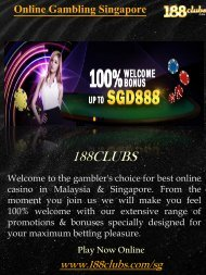 Online Gambling Singapore | 188clubs.com/sg