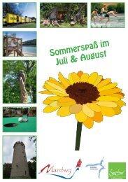Sommerspaß Juli & August 2019