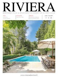 Riviera Sélections - Juillet 2019