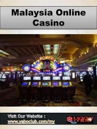 Malaysia Online Casino | YaboClub.Com