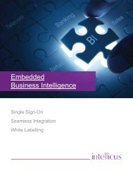 Embedded Business Intelligence Solution for OEMs