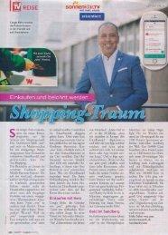 13.06.2019 meinTV Magazin: Einkaufen und belohnt werden – Shopping-Traum