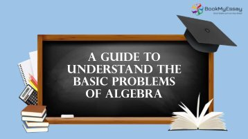Guide to Understand the Basic Problems