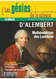 Les Génies de la Science n° 39 - Mai 2009