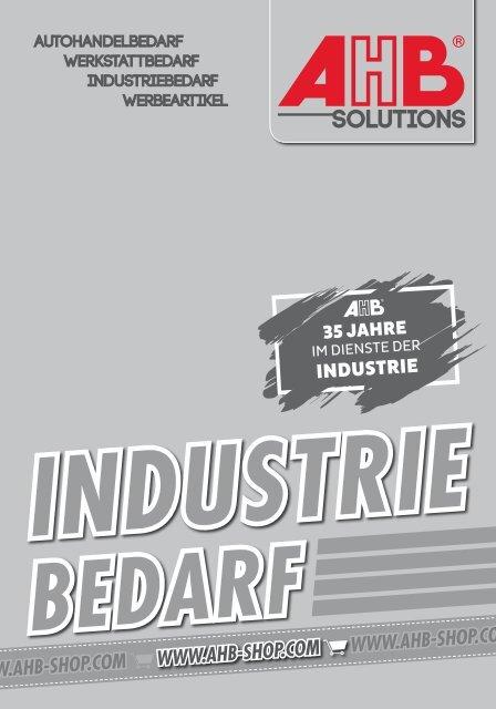 AHB Industrie-Bedarf 2020