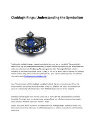 5 claddagh rings x penelopes