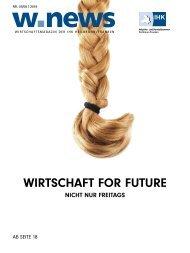 WIRTSCHAFT FOR FUTURE| w.news 07./08.2019