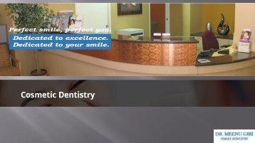 Dr Meenu Giri Cosmetic Dentistry