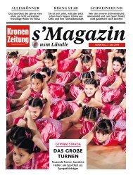 s'Magazin usm Ländle, 7. Juli 2019