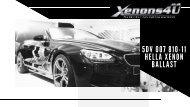 5DV 007 810-11 Hella Xenon Ballast
