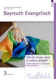 Bayreuth Evangelisch  Mai-Juni 2019