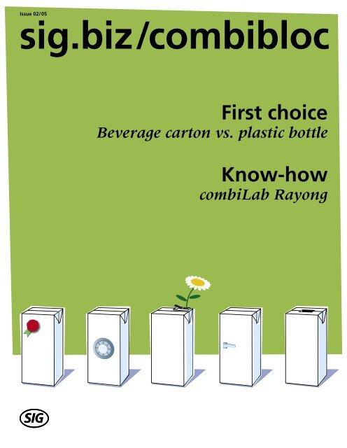 First choice - SIG Combibloc