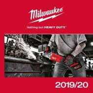 Milwaukee Power Tools Catalogue 2019 (EN)