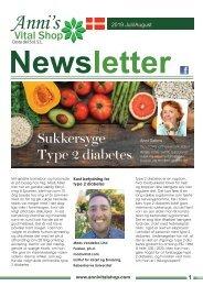 Sukkersyge - Type 2 diabetes