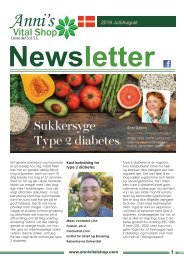 Sukkersyge - Type 2 diabetes