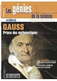 Les Génies de la Sciences n° 36 - Août 2008