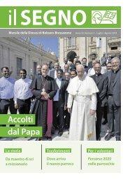 Il Segno - Mensile della Diocesi die Bolzano-Bressanone - Anno 55, numero 7, luglio 2019