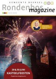 Rondenbos Magazine 172 - juni 2019
