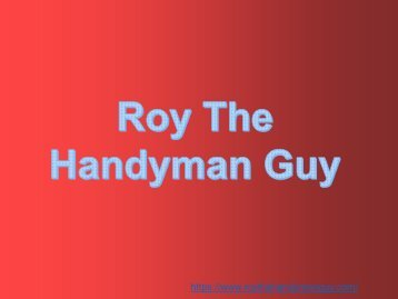 Professional Handyman Service in Rockville