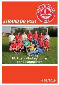Strand 08 Post #02/2019