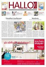 Hallo-Allgäu Kaufbeuren, Ostallgäu vom Samstag, 06.Juli