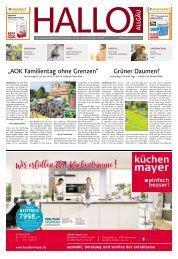 Hallo-Allgäu Memmingen vom Samstag, 06.Juli