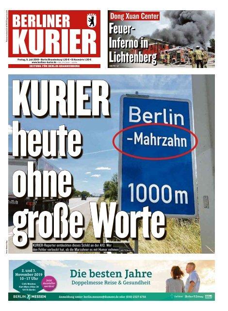 Berliner Kurier 05.07.2019