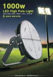 LED Sports Light 1000w