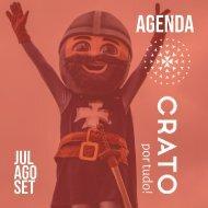 Agenda Crato por tudo! | Julho | Agosto | Setembro