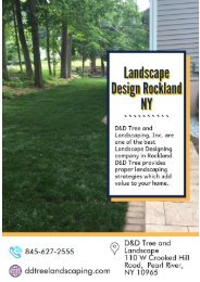 Landscape Design Rockland NY | Landscape Designing Company
