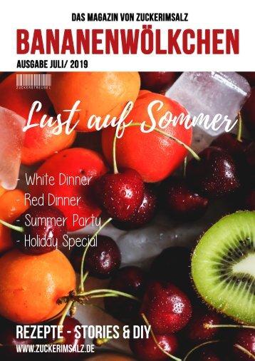 Bananenwölkchen - Lust auf Sommer - Das Magazin von Zuckerimsalz