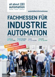 all about automation Ausstellerprospekt 2020