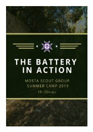 Camp Booklet