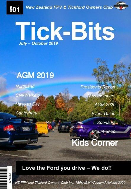 Tick-Bits Magazine July-Oct 2019