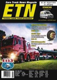 Euro Truck News Digital Nr. 08/2019