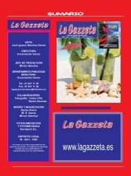 La Gazzeta Julio 2019 SUMARIO