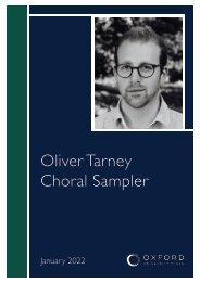 Oliver Tarney sampler