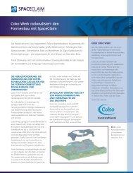Coko Werk rationalisiert den Formenbau mit SpaceClaim