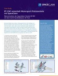 RT-CNC entwickelt Motorsport-Präzisionsteile mit ... - Lino GmbH